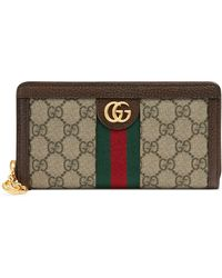 eaa1709037d5 Gucci - Ophidia Gg Supreme Zip-around Wallet - - Lyst