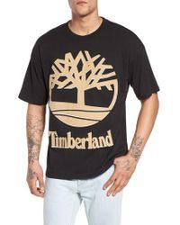 Timberland - Logo T-shirt - Lyst