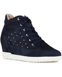 Geox - Carum Wedge Sneaker - Lyst