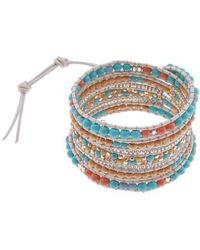 Nakamol - All Stone Wrap Bracelet - Lyst