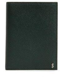 Stefano Serapian Evolution Leather Passport Case -