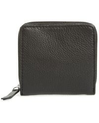 TOPSHOP | Leather Zip Around Wallet | Lyst