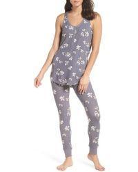 Make + Model - Cozy Brushed Hacci Pajamas - Lyst