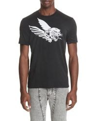 c97312877 Lyst - Givenchy Camo   Floral Print T-shirt in Black for Men