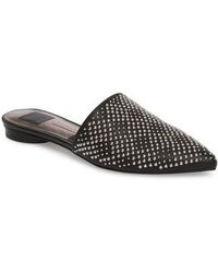 Dolce Vita Elvah Studded Leather Mules OJcgxdUTSn