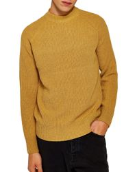 TOPMAN - Ribbed Sweater - Lyst