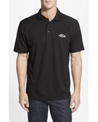 Cutter & Buck - 'baltimore Ravens - Genre' Drytec Moisture Wicking Polo - Lyst