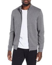 BOSS - Soule Slim Fit Zip Jacket - Lyst
