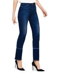 Ayr | The Aloe High Waist Straight Leg Jeans | Lyst