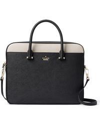 Kate Spade - Saffiano Leather Laptop Bag - Lyst