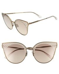554934d98aa Lyst - Gucci Powder Pink Acrylic Square Double G Womens Sunglasses ...