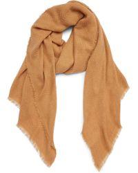 Sole Society - Oversize Blanket Scarf - Lyst