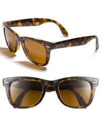 Ray-Ban - Standard 50mm Folding Wayfarer Sunglasses - Lyst