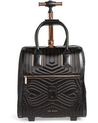 Ted Baker - Anisee Quilted Wheeled Travel Bag - Lyst