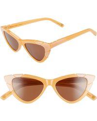 acdfe19475216 Pared Eyewear - X Salty Blonde Piccolo Grande 50mm Cat Eye Sunglasses - -  Lyst
