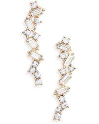 BP. - Dainty Custer Crystal Statement Earrings - Lyst