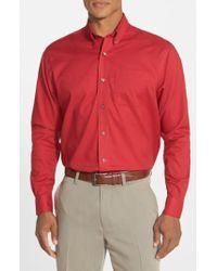 Cutter & Buck | 'nailshead' Classic Fit Sport Shirt | Lyst