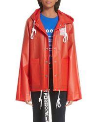 Proenza Schouler - Pswl Graphic Raincoat - Lyst
