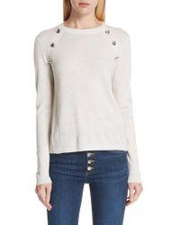 Veronica Beard - Pearson Merino Wool Sweater - Lyst