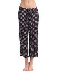 Commando - Crop Silk Pajama Pants - Lyst