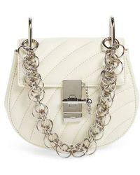 438b48faad Chloé - Mini Drew Bijoux Leather Shoulder Bag - Lyst
