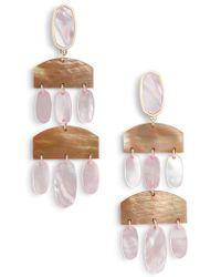 Kendra Scott - Emmet Drop Earrings - Lyst