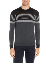 Ted Baker - Giantbu Slim Fit Wool Blend Sweater - Lyst