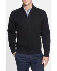 Cutter & Buck | 'broadview' Half Zip Sweater | Lyst