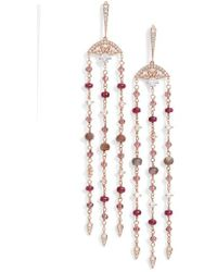 Nadri - Fan Drop Earrings - Lyst