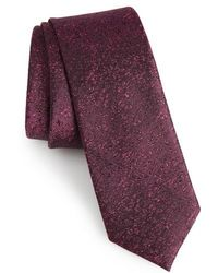 Calibrate | Rowland Abstract Silk Skinny Tie | Lyst