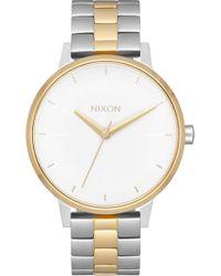 Nixon - 'the Kensington' Round Bracelet Watch - Lyst