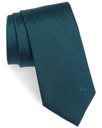 Burberry - Herringbone Silk Tie - Lyst