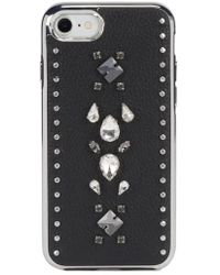 Rebecca Minkoff - Inlay Gem Leather Iphone 7/8 Plus Case - Lyst