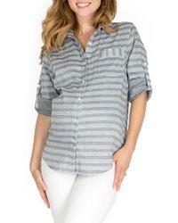Nom Maternity - Sadie Maternity/nursing Shirt - Lyst