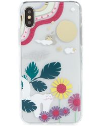 premium selection 4441e 0b9ac Glitter Garden Cat Transparent Iphone X/xs/xs & Xr Case