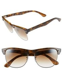 Ray-Ban - 'clubmaster' 57mm Sunglasses - Lyst