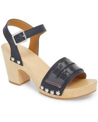 HUNTER - Refined Penny Loafer Clog Sandal - Lyst