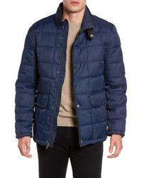 Cole Haan - Box Quilted Jacket - Lyst