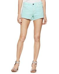 PAIGE - Emmit Relaxed Denim Shorts - Lyst