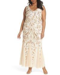 Pisarro Nights - Embellished Mesh Gown - Lyst