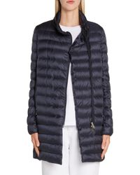 Lyst Moncler Flamette Quilted Shell Down Coat in Black