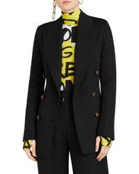 Burberry - Patterdale Wool & Silk Jacket - Lyst