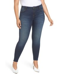 Kut From The Kloth - Mia High Waist Skinny Jeans - Lyst