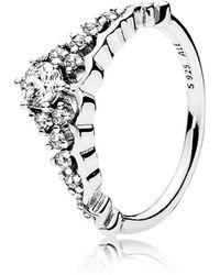 PANDORA - Tiara Ring - Lyst