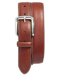 Bosca - Washed Leather Belt - Lyst