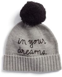 Kate Spade - In Your Dreams Pom Beanie - - Lyst