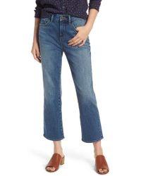 Treasure & Bond - Praise High Waist Flared Crop Jeans - Lyst