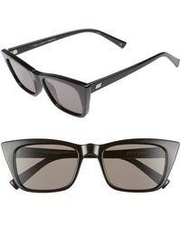 Le Specs - I Feel Love 51mm Cat Eye Sunglasses - - Lyst