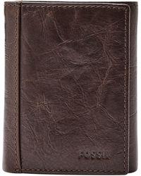 Fossil - Neel Leather Wallet - Lyst