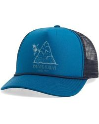 930629be768 Patagonia Save Our Rivers Interstate Trucker Hat - in Blue for Men ...